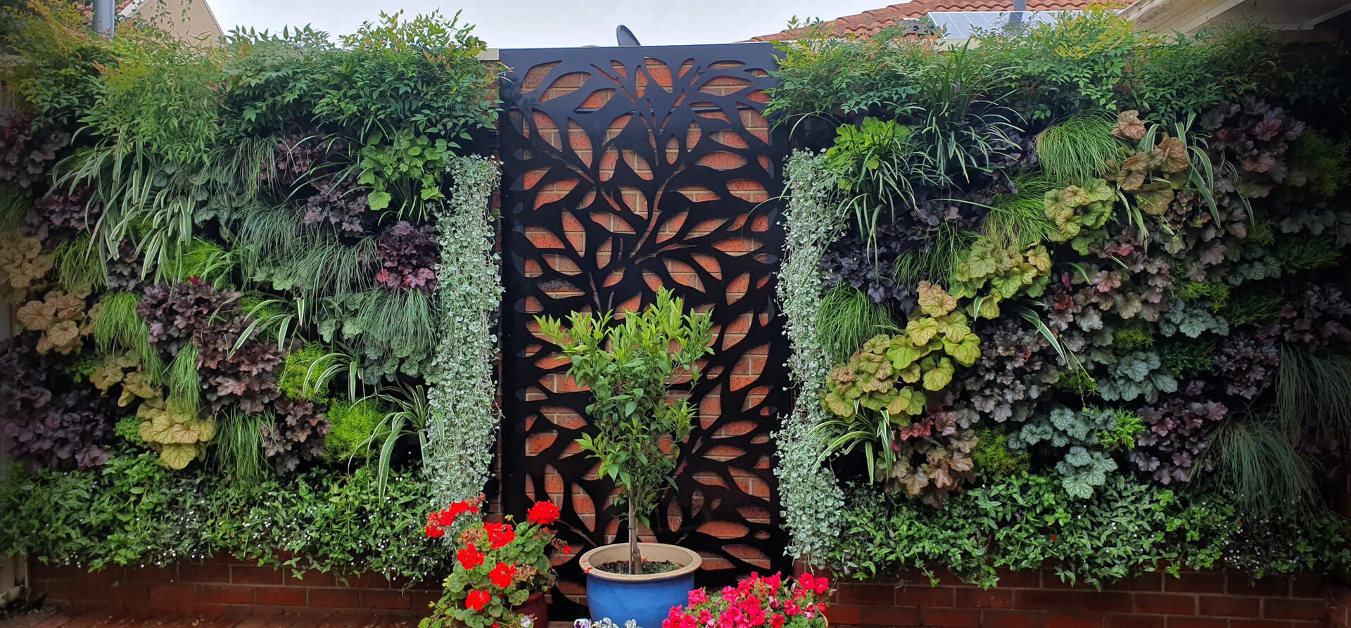 garden metal screens