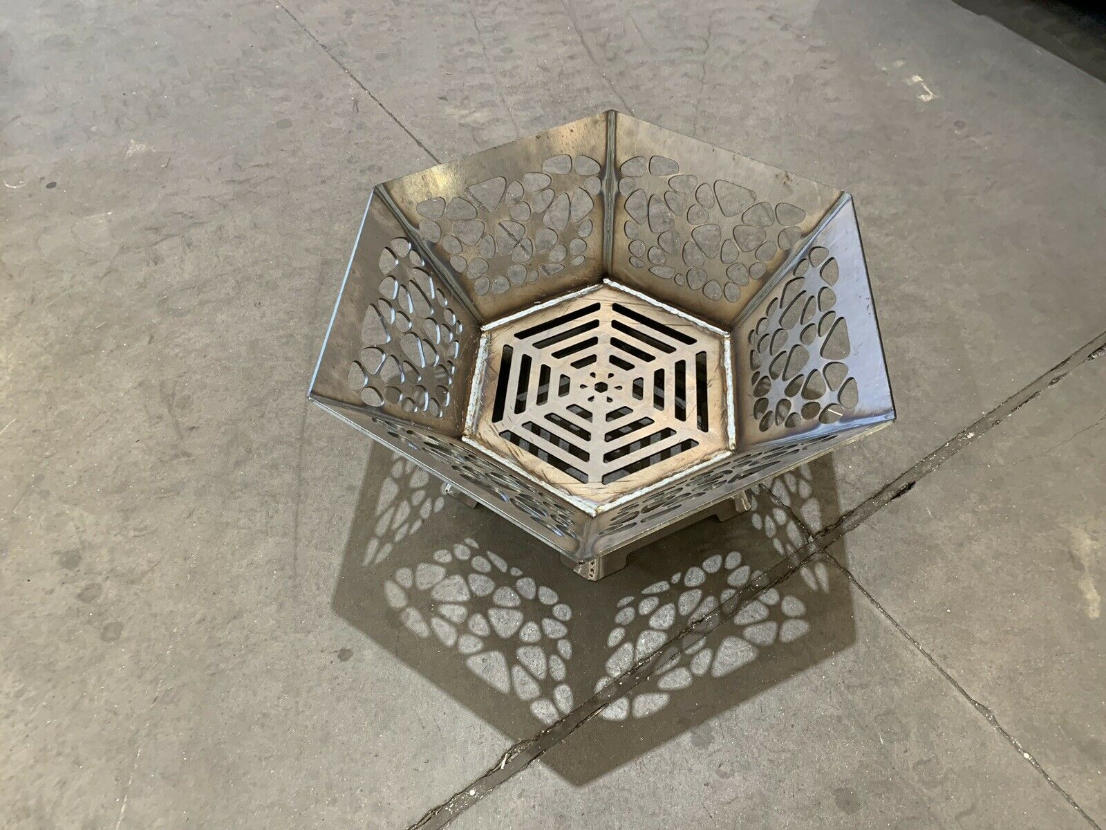 Hexagon Fire Pit 6