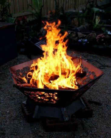 Hexagon Fire pit 1