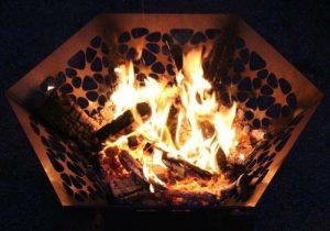Hexagon Fire pit 2