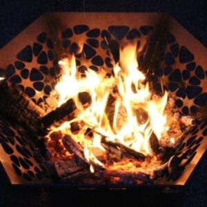 Hexagon Fire pit 2