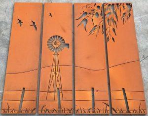 Outback 4 panel set 1