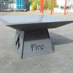 'fire' fire pit 3