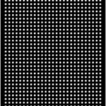 Perforated Panel 2440 x 1220 – 25 x 20p