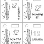 Custom mailbox bamboo alternative font designs